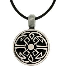 necklace leather cords images Carolina glamour collection pewter unisex good fortune celtic jpg