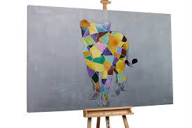 Wohnzimmer Alte Und Neue M El Handgemalte Bilder Gemälde U0026 Skulpturen Kaufen Kunstloft