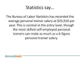 the bureau trainer personal trainer salary