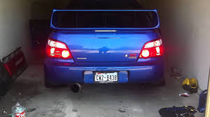 2004 subaru wrx spoiler installed the perrin wing stiffies youtube