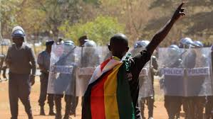 Mobilize Anti Flag Zimbabweans Use Social Media To Mobilize Mass Protests Against