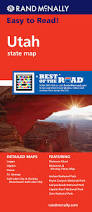 Utah Road Conditions Map by Utah Road Map Rand Mcnally 9780528882081 Amazon Com Books