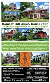 ramsey hill association 2017 ramsey hill house tour