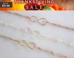 Infinity Bracelet With Initials Durable Plating Sliver Handmade Cross Infinite Bracelet U0026 Bangle