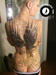 tattoo eagle girl eagle tattoo for girls