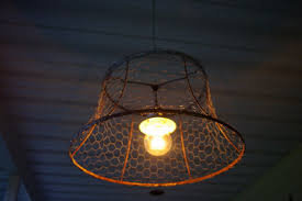 Wire Light Fixtures Barbed Wire Light Fixtures Home Design Ideas