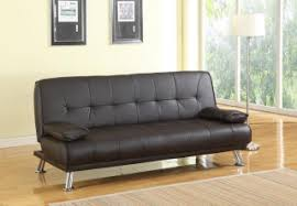 living room furniture sofa beds black faux leather sofa bed