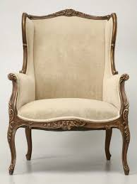 French Wingback Chair French Louis Xv Style Wing Chair For Sale Old Plank