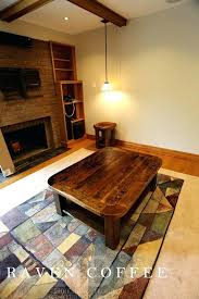 Coffee Table Rounded Edges Coffee Table With Rounded Corners Grinery Bord Square Coffee Table