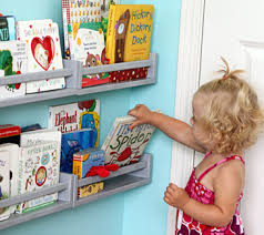 Nursery Wall Bookshelf 13 Great Ways To Display Books In The Nursery Disney Baby