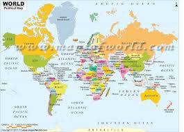 Argentina World Map by Buy World Map With Countries In Native Names