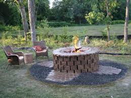 How To Build Your Own Firepit How To Installing A Pit Hgtv