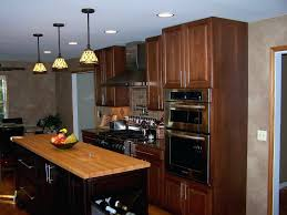 kitchen microwave ideas brown kitchen cabinets with under cabinet microwave and island