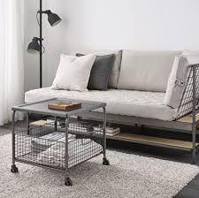 Rolling Coffee Table 15 Industrial Coffee Tables For Any Home Hunker