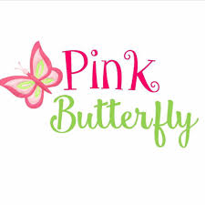 pink butterfly monogramming gift shop spartanburg south