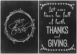 happy thanksgiving signs two thanksgiving chalkboard printables the craft