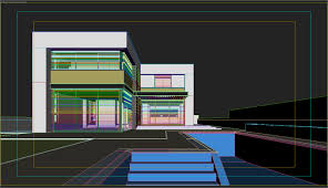 custom home designers utilize sketchup for brilliant results of ms house at dusk part 2 sketchup export 3dsmax v