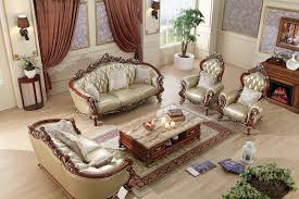 Luxury Leather Sofa Sets Luxury European Leather Sofa Set Living Room Sofa China Wooden