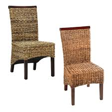 Woven Dining Room Chairs Banana Leaf Dining Room Chairs Alliancemv Com