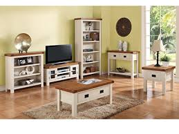 Alba Painted Oak Corner TV Unit Plasma TV Cabinet Finish  Oak - Oak living room sets