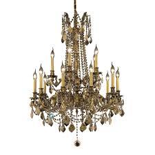 elegant lighting 9215d28fg gt rc rosalia collection dining room