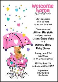 cheap 99 welcome home baby shower invitations at home party