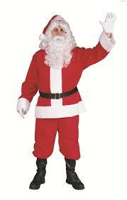 santa claus costume santa claus suit plush costume