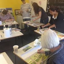 winsor and newton portrait oil painting workshop with artist john