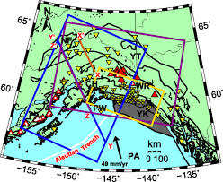 Wrangell Alaska Map by Subduction Geometry Of The Yakutat Terrane Southeastern Alaska