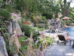 swimming pool landscaping ideas inground pools nj design pictures