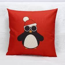 aliexpress com buy christmas snowman penguin print sofa chair