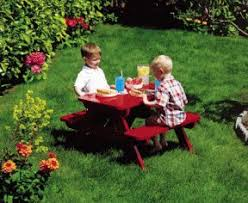 Free Woodworking Plans Childrens Furniture by Best 25 Kids Picnic Table Plans Ideas On Pinterest Kids Picnic