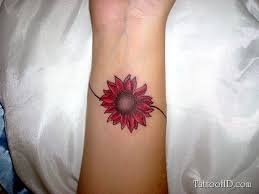 41 graceful flowers wrist tattoos tattoos flower