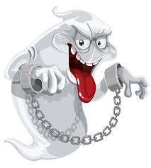 halloween clipart ghost evil ghost with chains png clipart image gallery yopriceville