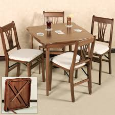 Wooden Folding Card Table Arts And Crafts Table Chairs At 1stdibs Wood Dining