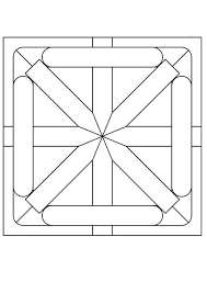coloring pages girls detailed geometric coloring pages