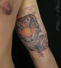 kel tait watercolor tiger tattoo aussie and kiwi do it better