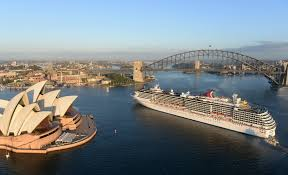 cruises to sydney australia australia cruising to record numbers ship technology