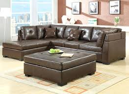 Dark Brown Sofa Living Room Ideas by Tufted Faux Leather Sofa Dark Brown Couch Living Room Ideas With