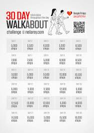 Challenge Steps Take Up A 30 Day Walkabout Challenge And Make Your Every Step