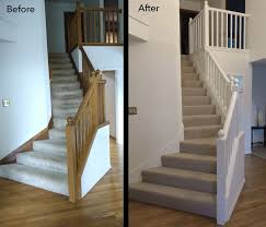 Sanding Banister Best 25 Painted Stair Railings Ideas On Pinterest Railings