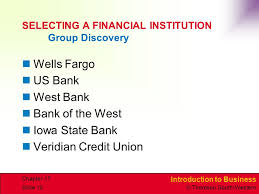 banking and financial services ppt download