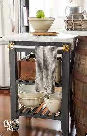 diy kitchen island cart 9 catchy kitchen islands