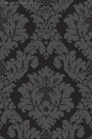 black on black damask wallpaper davinci damask wallpaper black