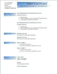 resume free format microsoft word resume template 2014 free free resume templates