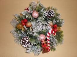 file plastic christmas wall wreath 1 jpg wikimedia commons
