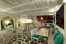 Architects And Interior Designers In Hyderabad The Blue Door Restaurant By Saloni Narayankar Interiors Hyderabad