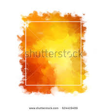 hues of orange paint strokes red orange hues form stock illustration 624419489