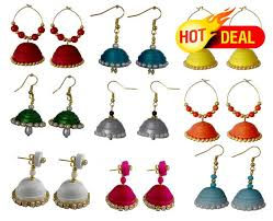 quiling earrings buy navratri special combo of 9 handmade paper quilling earrings