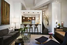 small kitchen and living room combo best kitchen ideas